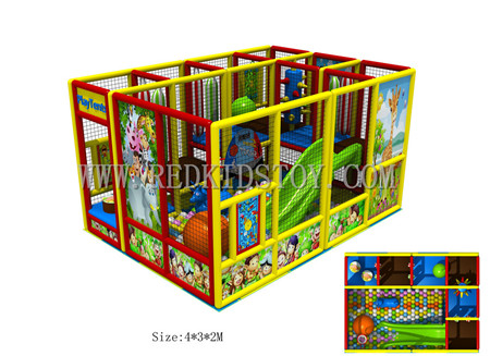 2016 NEW! Assembled Nursery Kids Indoor Play Structure Just Using ...